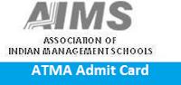 ATMA Admit Card
