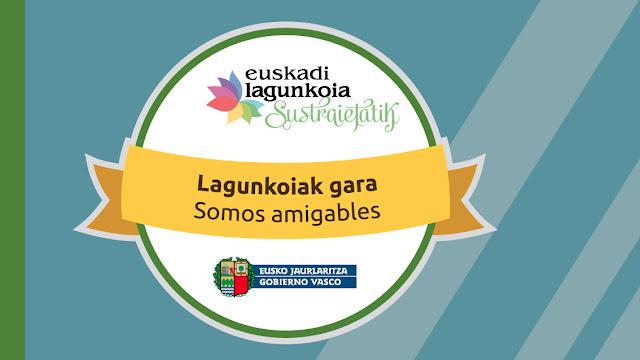 Logo de la campaña del Gobierno Vasco