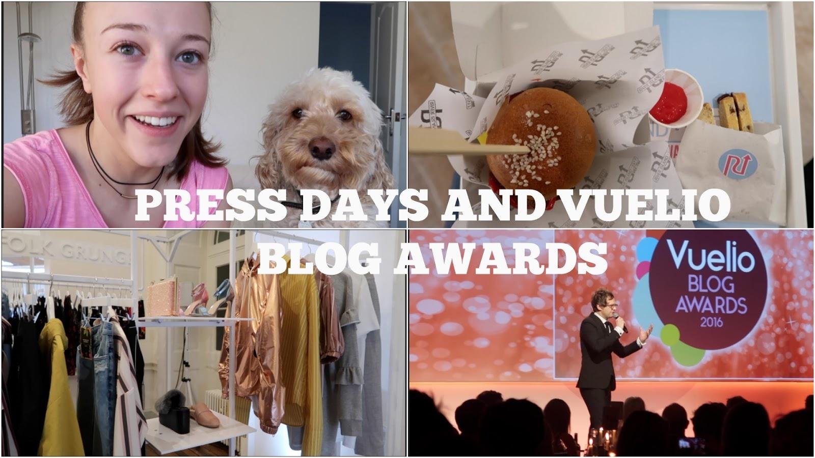 The Weekly Vlog: Press Days & Vuelio Blog Awards