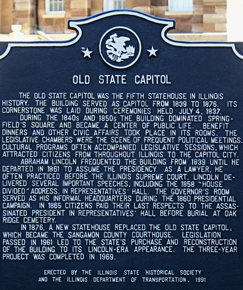 Old State Capitol Springfield Illinois