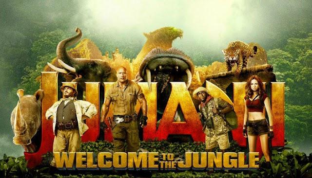 Review Filem : Jumanji Welcome To Jungle