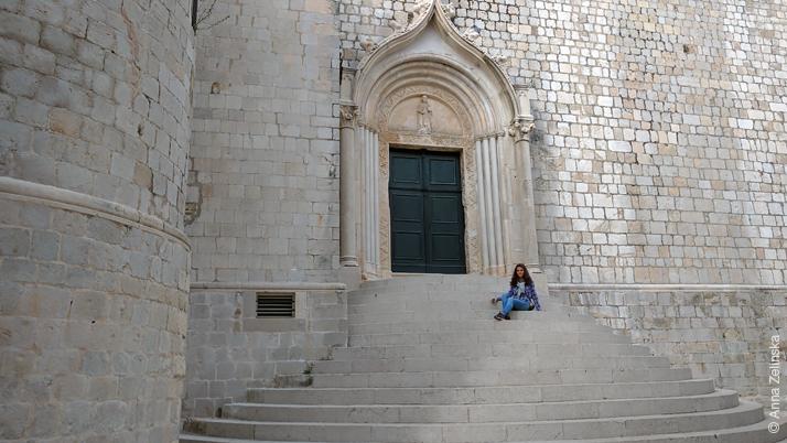 Ступеньки в Старом городе, Дубровник