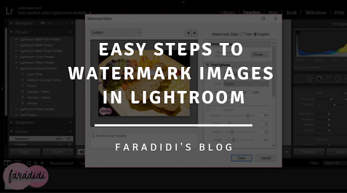 Easy Steps To Watermark Images In Lightroom