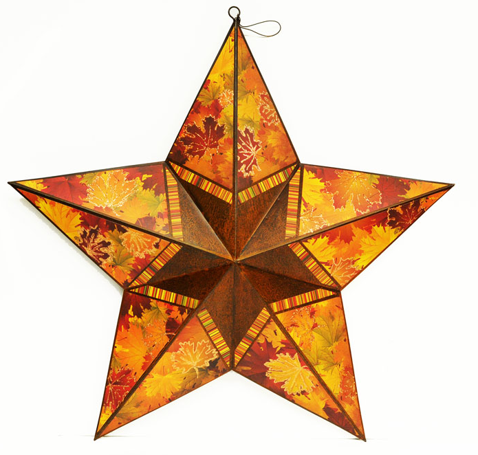 Fall Metal Star designed by Melody.
