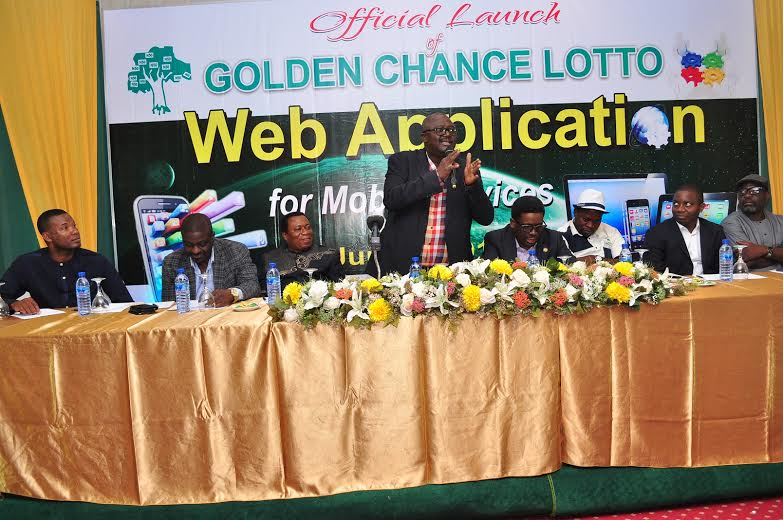 Golden Chance Lotto launches online application for
