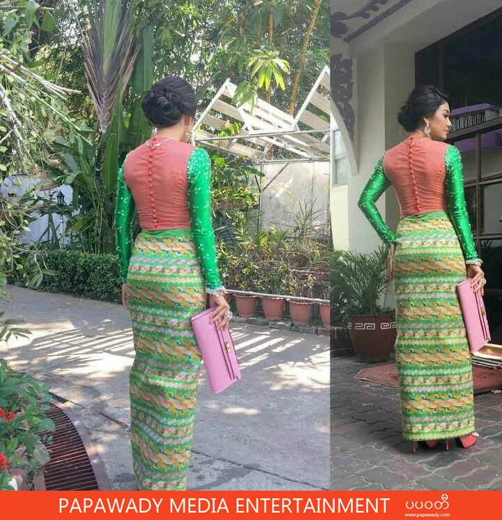 Thinzar Wint Kyaw and Her Fashion To Attends Academy Awards Ceremony 2016