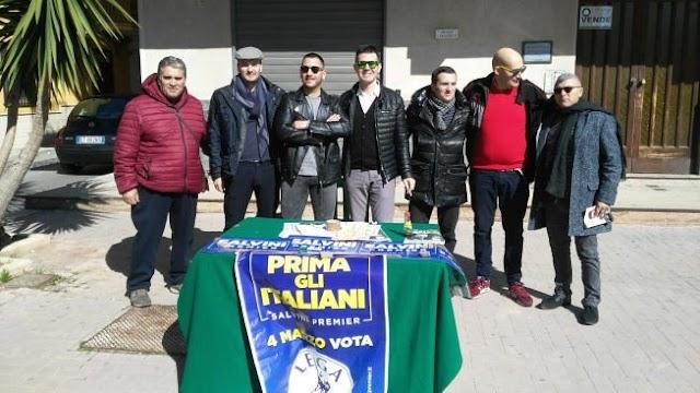 Nell'agrigentino pioggia di firme per Salvini