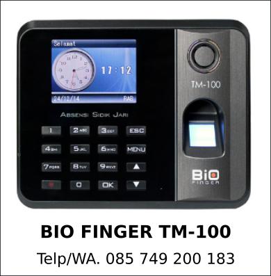 Distributor Bio Finger TM-100 Murah Terbaik
