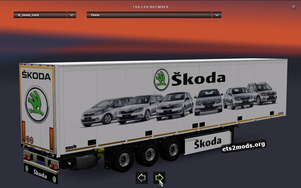 Standalone Skoda Trailer