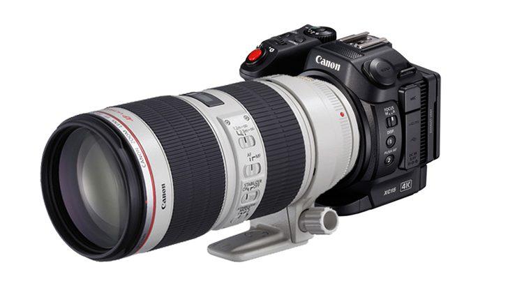 Фантазия на тему видеокамеры Canon со сменной оптикой