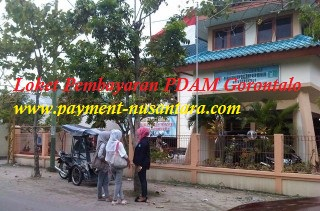 Loket Pembayaran Online PDAM Gorontalo - Tempat Pendaftaran Loket PPOB Bukopin di Gorontalo