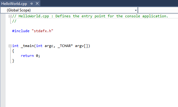 Membuat Program Hello World di C++
