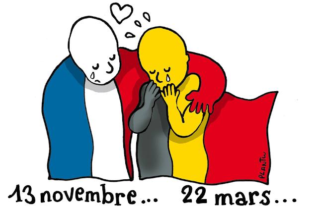 Attentats aux attentats terroristes perpétrés à Bruxelles le 22 mars 2016 - Bruxelles-Bruxellons