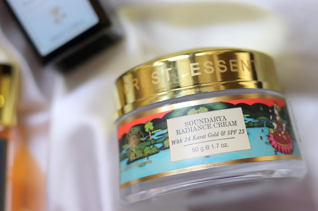 Forest Essentials soundarya radiance cream review