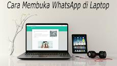 Cara Membuka WhatsApp di Laptop Tanpa Aplikasi