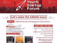 Youth Startup Forum - Asean Social Entrepreneur Generations