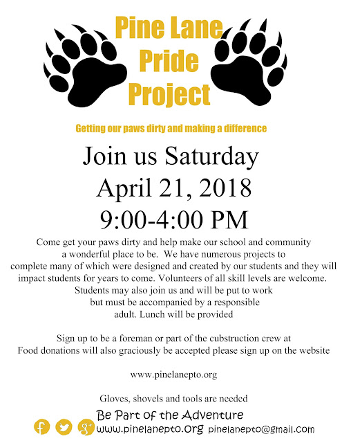 Pine Lane Pride Project Volunteers