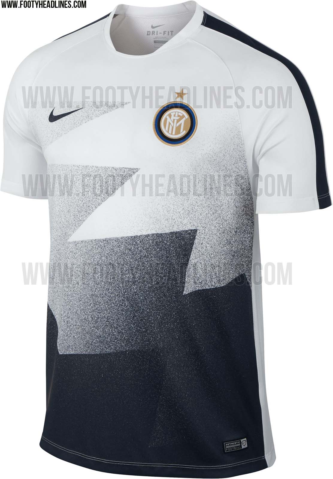 Inter 15-16 Pre-Match and Training Shirts Released - Footy