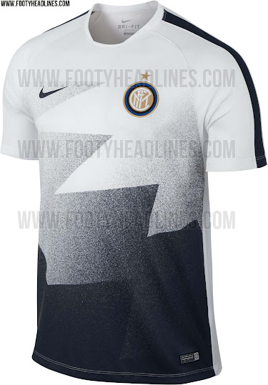 newest 76ff9 81c20 Inter 15-16 Pre-Match and Training Shirts Released - Leaked ...