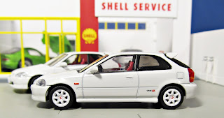 Tomica Limited Vintage NEO LV-N158a white 97 Honda Civic Type-R