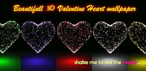 BESTOFFAPK: 3D Valentine Heart Magic PRO v1.0