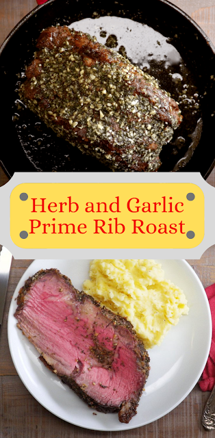 Herb and Garlic Prime Rib Roast