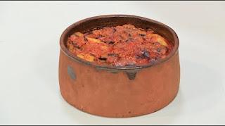 طريقة عمل طاجن بطاطس مع مكعبات اللحم مع نورا السادات في عمايل إيديا