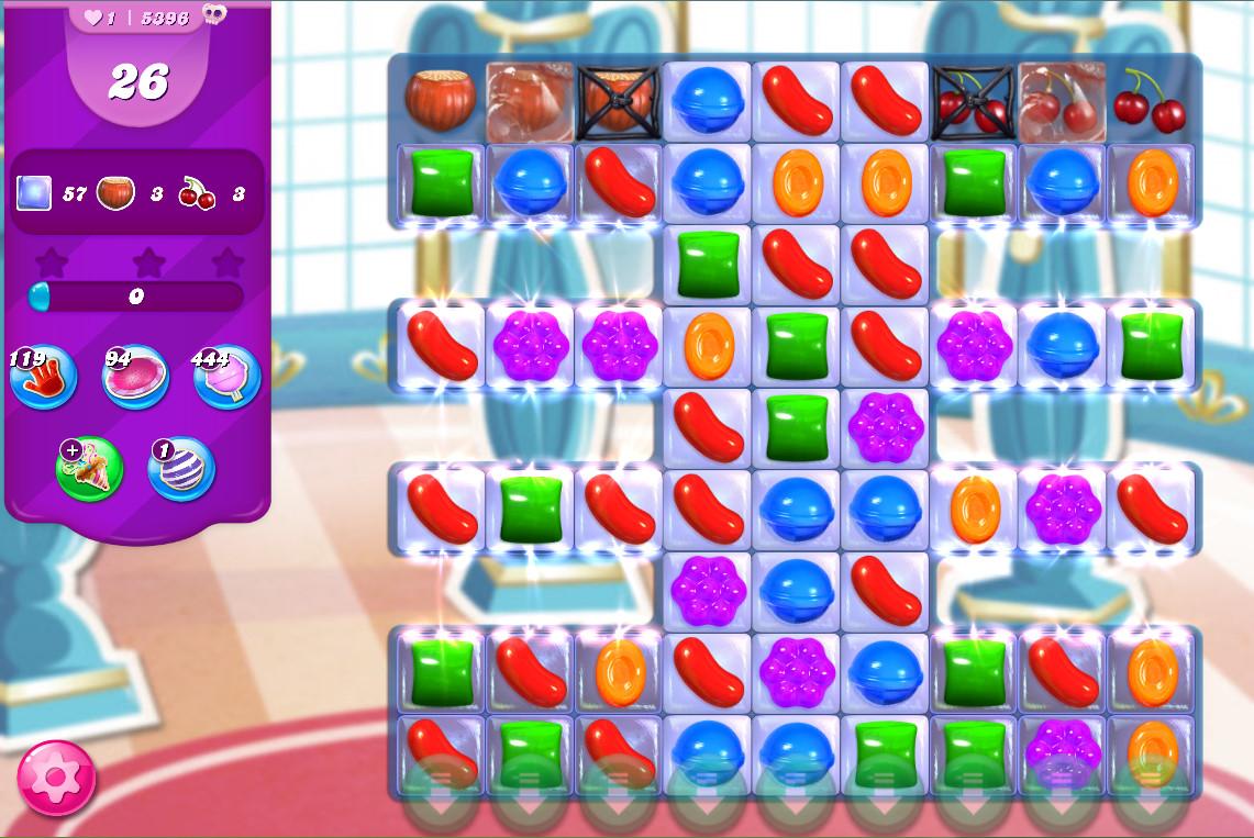 Candy Crush Saga level 5396