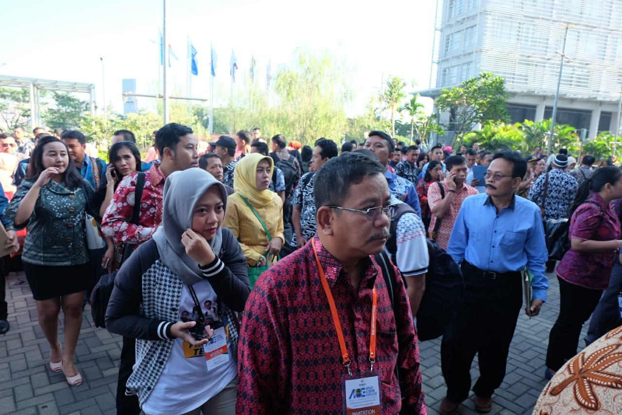 Bupati Sekadau Rupinus Ikut Raker Apkasi XI Tahun 2018 Di Banten