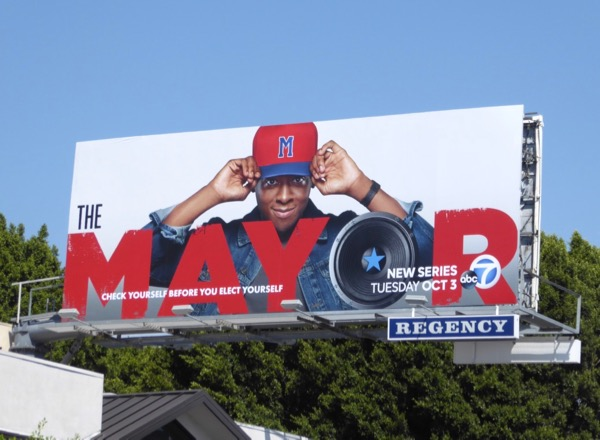 Mayor series premiere billboard