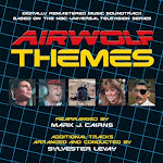 AIRWOLF THEMES 2CD soundtrack artwork