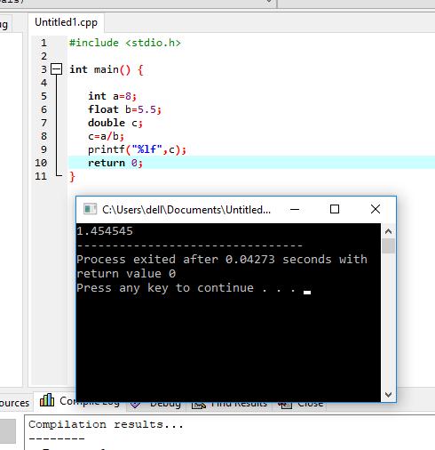 ixplicit type casting example