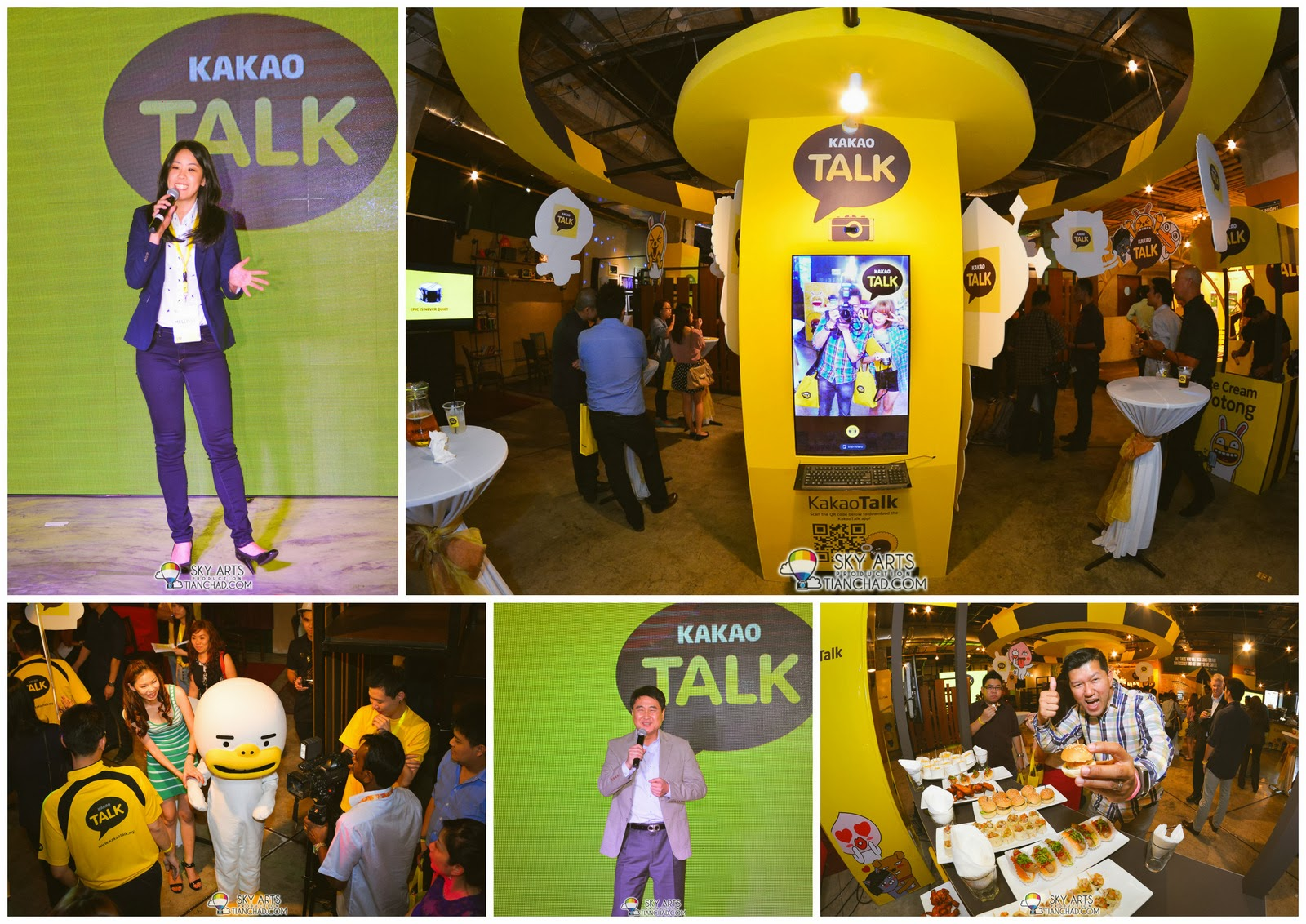 KakaoTalk Malaysia Epic Launch @ The Bee Publika
