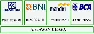 Rekening Bank Awan Ukaya
