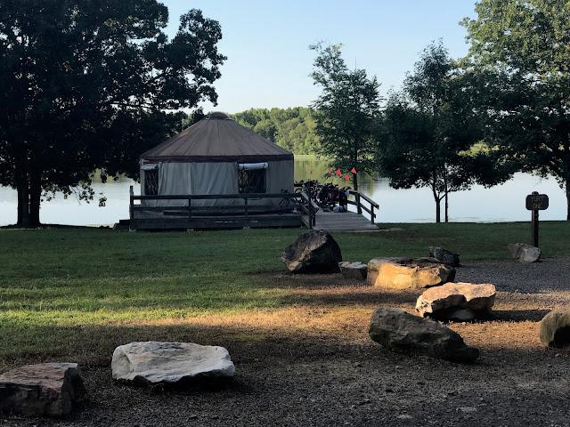 petit jean state park yurt