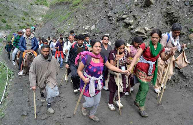 Home ministry issues 18 point advisory for Amarnath pilgrims