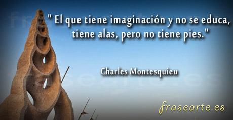 Citas con imaginación, Charles Montesquieu