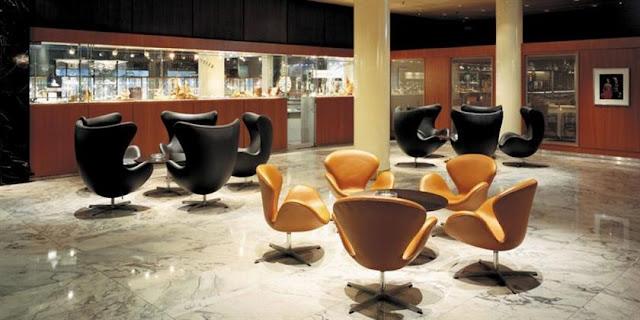 おしゃれな北欧の家具。アルネ・ヤコブセンの家具【a】 SASロイヤルホテル
