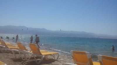 Пляж в Эйлате - красное море