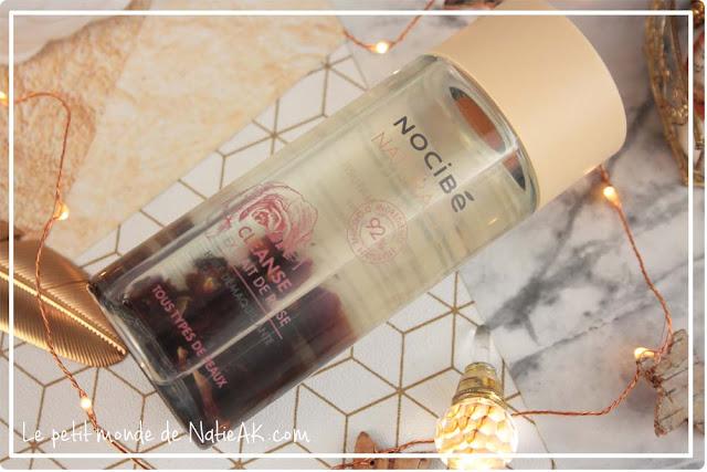 l'huile démaquillante à l'extrait de rose
