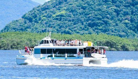Catamarã fará passeios ao Marujá, Boqueirão Sul e  Superagui (PR) neste final de semana