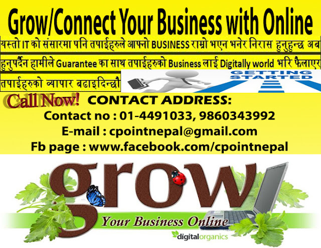 Grow/Connect Your Business with Online