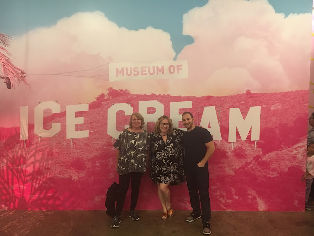 2017, 2018, reflection, Jamie Allison Sanders, Museum of Ice Cream, Los Angeles