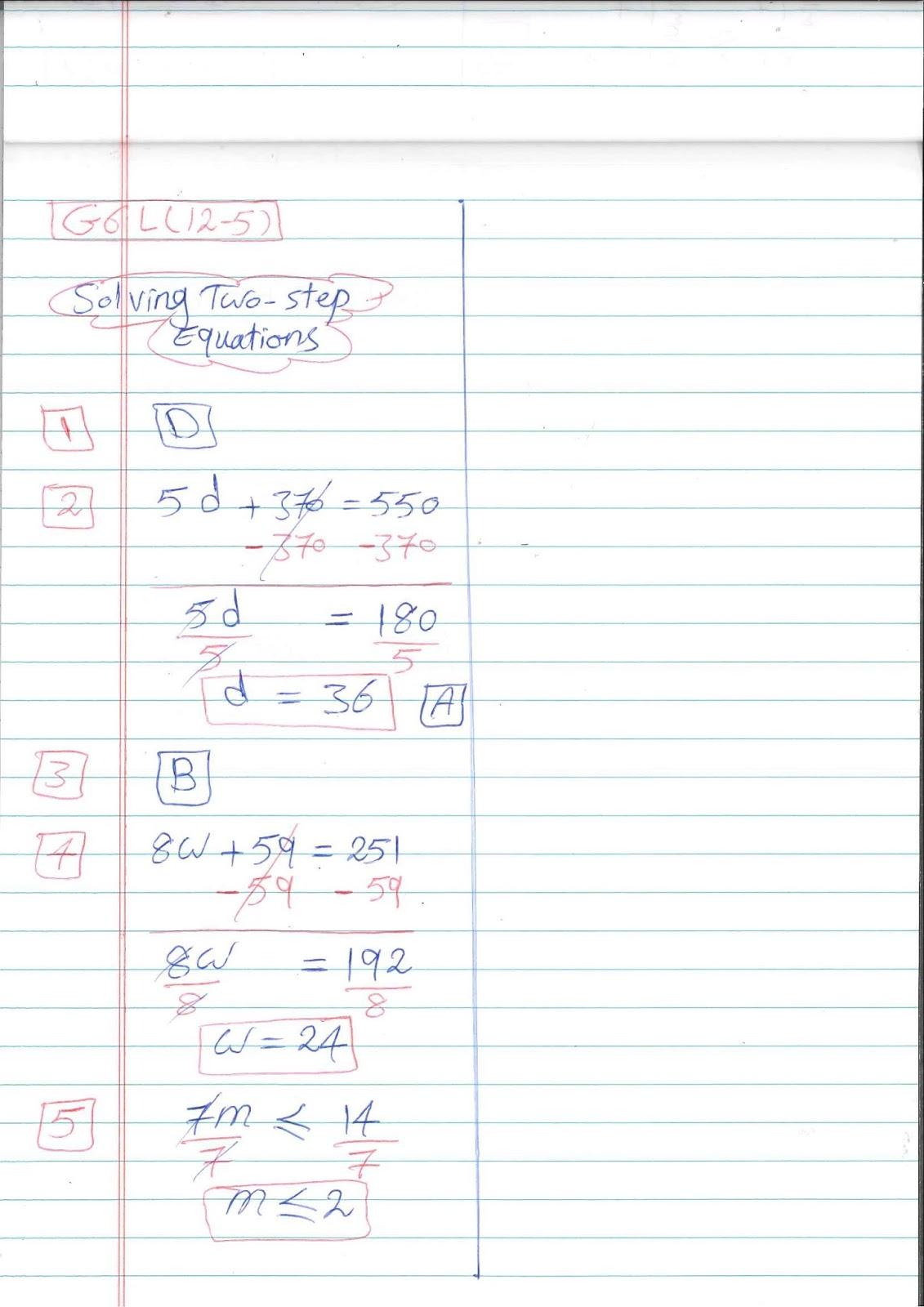 G6 Worksheets Easy Math