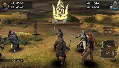 Foranimeku - The Lord of the Rings Tactics PSP