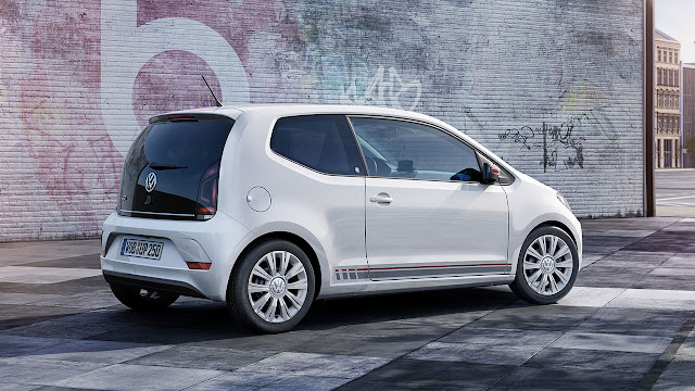 The new Volkswagen up! at the Geneva Motor Show