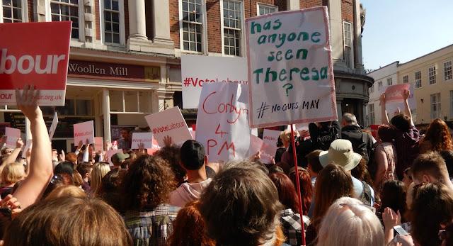Jeremy Corbyn Rally York