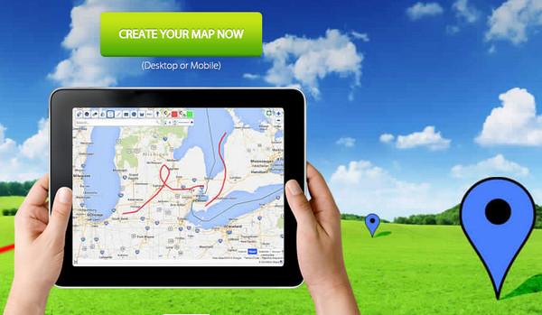 موقع مجاني للتعديل على خرائط جوجل ووضع اضافات الخاصة