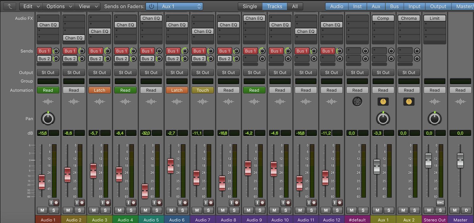 Logic Pro X Themes