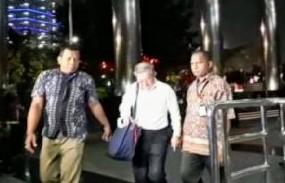 Pengusaha Tamin Sukardi tiba di Gedung KPK, Jakarta